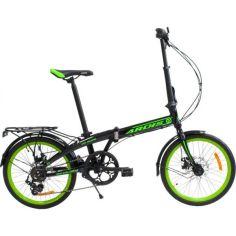 """Акция на Велосипед Ardis 20""""CITY FOLDING (черно-салатовый) 2021 от Allo UA"""