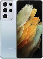 Акция на Смартфон Samsung Galaxy S21 Ultra 12/128GB (SM-G998BZSDSEK) Phantom Silver от Територія твоєї техніки