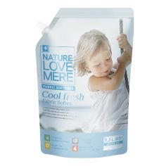 Акция на Кондиционер для детских вещей Nature Love Mere Прохладная свежесть 1300 мл  8809402093397 ТМ: Nature Love Mere от Antoshka