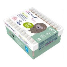Акция на Ватные палочки Cleanic Baby Eco 60 шт  2973 ТМ: Cleanic от Antoshka