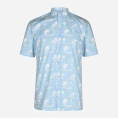 Акция на Рубашка Pierre Cardin 558170-72 XXL Sky от Rozetka
