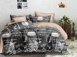 Акция на Комплект постельного белья Novita Сатин 20099 Семейный (ROZ6400059409) от Rozetka