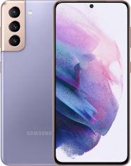 Акция на Мобильный телефон Samsung Galaxy S21 8/128GB Phantom Violet (SM-G991BZVDSEK) от Rozetka