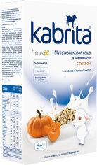 Акция на Мультизлаковая каша на основе козьего молока Kabrita с тыквой для детей от 6 месяцев 180 г (8716677007991) от Rozetka