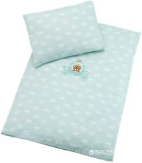 Акция на Комплект постельного белья IDEIA Ранфорс Корона 60х80 (2200004001753) от Rozetka