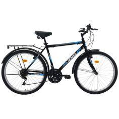 """Акция на Велосипед ROVER C50 26""""19"""" black-blue 2021 от Allo UA"""