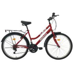 """Акция на Велосипед ROVER C50 26""""17,5"""" red 2021 от Allo UA"""