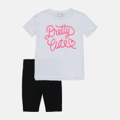 Акция на Костюм (футболка + шорты) Minoti 6JSET 4 17110 110-116 см Белый (5059030510947) от Rozetka