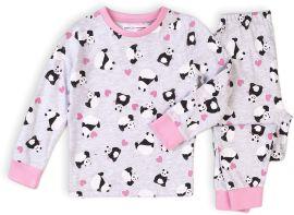 Акция на Пижама (футболка с длинными рукавами + штаны) Minoti Kg Pyj 14 17414 146-152 см Серая (5059030524357) от Rozetka