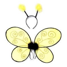 Акция на Набор Great Pretenders Bumblebee Крылья и обруч для головы (16310) от Будинок іграшок