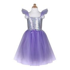 Акция на Платье с пайетками Great Pretenders Princess на 7-8 лет (32337) от Будинок іграшок
