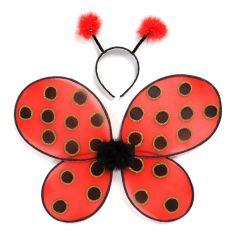 Акция на Набор Great Pretenders Ladybug Крылья и обруч для головы (16300) от Будинок іграшок
