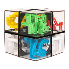 Акция на Головоломка-лабиринт Perplexus Hybrid 2x2 rubiks (SM34624) от Будинок іграшок