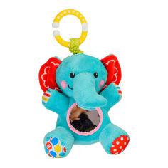 Акция на Подвеска с вибрацией Fisher price Слоненок (GH62731) от Будинок іграшок