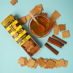 Акция на Печенье натуральное BakerBee с медом и корицей 40 г  ТМ: BakerBee от Antoshka