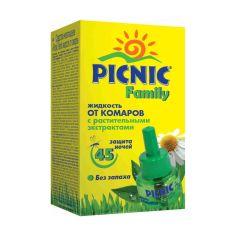 Акция на Жидкость от комаров Picnic Family 45 ночей, 30 мл 23057 ТМ: Picnic от Antoshka