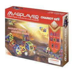 Акция на Конструктор магнитный Magplayer 40 элементов (MPB-40) от Allo UA