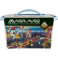 Акция на Конструктор магнитный Magplayer 118 элементов (MPT-118) от Allo UA