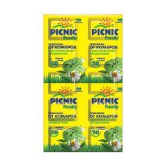 Акция на Пластины от комаров Picnic Family, 10 шт 7743 ТМ: Picnic от Antoshka