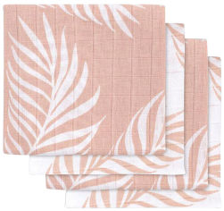 Акция на Набор муслиновых пеленок Jollein Nature 70х70 4 шт Blush Pink (8717329354081) от Rozetka