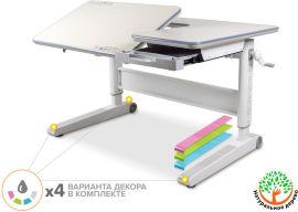 Акция на Детский стол Mealux RichWood Multicolor W (арт. BD-840 W/MC) от Stylus