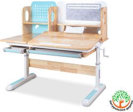 Акция на Детский стол Mealux Winnipeg Wood Bl (арт. BD-640 Wood BL) от Stylus