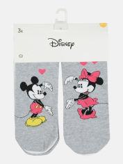 Акция на Набор носков C&A Disney 5346347 39/42 3 пары Серый/Белый с рисунком (PS2030000032341) от Rozetka