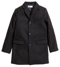 Акция на Пальто H&M 1702-4214944 170 см Черное (hm09758251218) от Rozetka