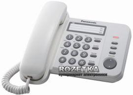 Акция на Panasonic KX-TS2352UAW White от Rozetka