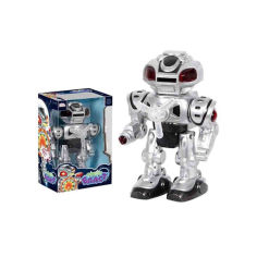 Акция на Робот YG Toys Бласт 29,5 x 13 x 18,5 см серебряный UKA-A0102-2 от Allo UA
