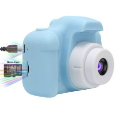 Акция на Детский цифровой фотоаппарат CG Model X Blue от Allo UA