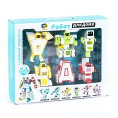 Акция на Роботы Трансформер Алфавит Набор 6 Больших Букв (D 622) от Allo UA