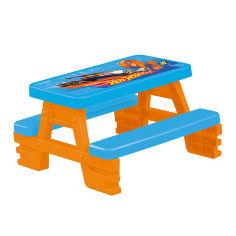 Акция на Столик для пикника Hot Wheels 4 места (2308) от Будинок іграшок