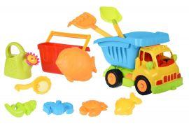 Акция на Same Toy 6 ед Грузовик желтая кабина/синий кузов (968Ut-2) от Repka