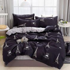 Акция на Комплект постельного белья MirSon Бязь Premium 17-0468 Beautiful Paris Двуспальный (2200003332711) от Rozetka