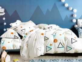 Акция на Комплект постельного белья MirSon Бязь Premium 17-0473 Hosta Детский (2200003345414) от Rozetka