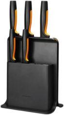 Акция на Набор ножей Fiskars FF с пластиковой подставкой 5 шт (1057554) от Rozetka