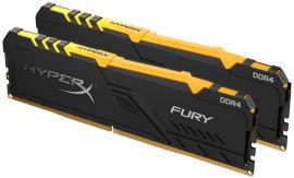 Акция на Оперативная память HyperX DDR4-3600 32768MB PC4-28800 (Kit of 2x16384) Fury RGB (HX436C18FB4AK2/32) от Rozetka