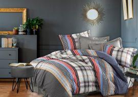 Акция на Комплект постельного белья Iyi Geceler Istanbul Сатин Styling 200х220 (8681234910390) от Rozetka