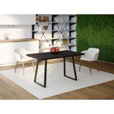 Акция на Обеденный стол HYGGE HG123 Рьодовре 180 х 80 х 75 см ДСП Дуб Венге (HG12318807wenPar) от Allo UA