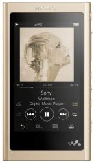 Акция на SONY Walkman NW-A55 16GB Gold от Repka