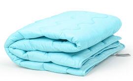 Акция на Одеяло антиаллергенное всесезонное Eco-Soft 1649 Eco Light Blue MirSon 220х240 см от Podushka