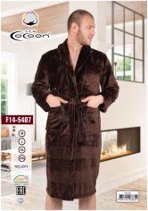 Акция на Мужской халат Cocoon 14-5407 brown XL от Podushka