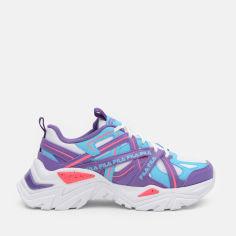 Акция на Кроссовки Fila Electrove Kids' Low Shoes 3RM01521-148 35.5 Бело-фиолетовые (4670036654711) от Rozetka