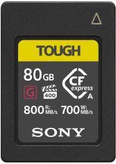 Акция на SONY CFexpress Type A 80GB R800 / W700 Tough (CEAG80T.SYM) от Repka