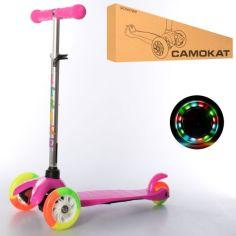 Акция на Самокат iTrike Mini BB 3-013-4-A-P Pink (BB 3-013-4-A) от Allo UA