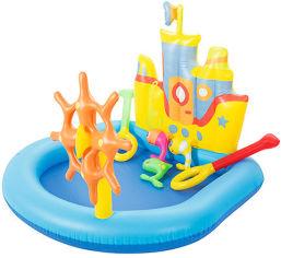 Акция на Детский игровой комплекс Bestway 52211 Корабль,190-140-96см от Stylus