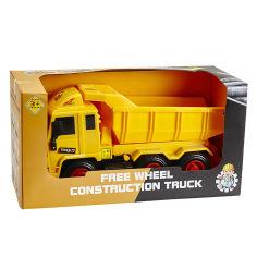 Акция на Машина спецтехники Construction Truck оранжевый самосвал от Auchan