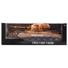 Акция на Игрушечный танк фрикционный, оранжевый, 37х18х13 см от Auchan