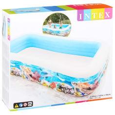 Акция на Детский надувной бассейн Intex, 999 л, 305х183 см от Auchan